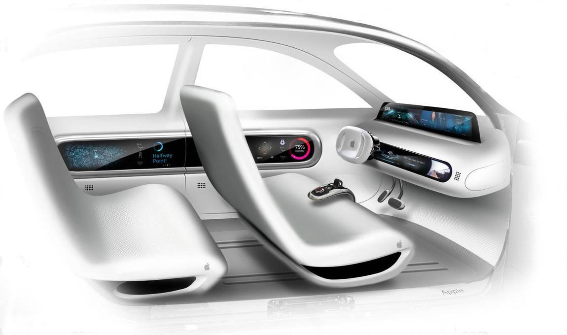 фото салона Apple Car 2019-2020
