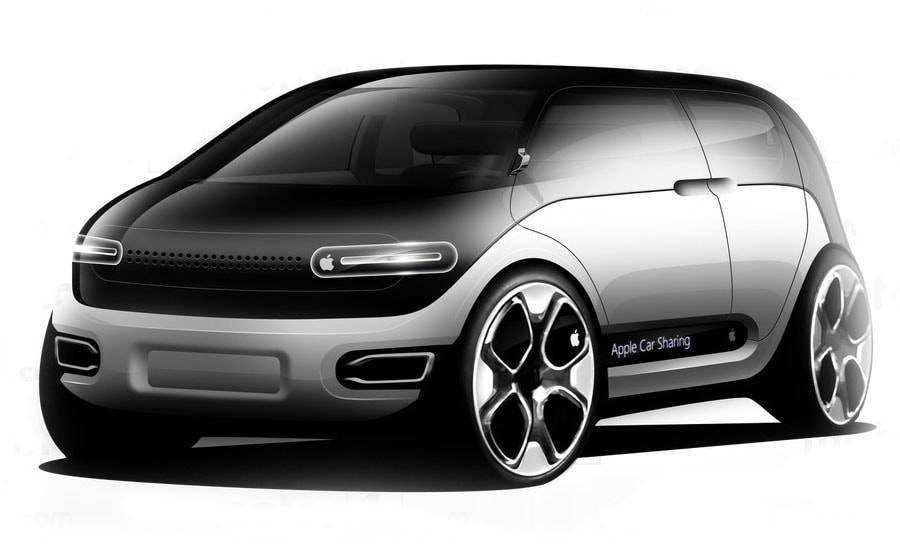 фото новый электрокар Apple Car 2019-2020