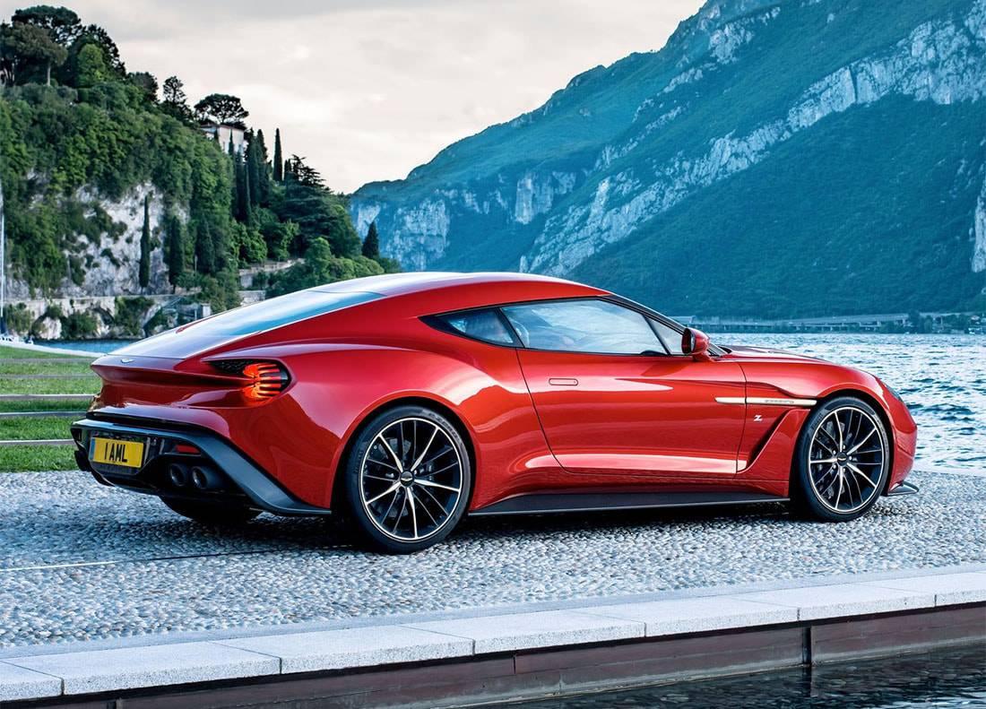 фото Aston Martin Vanquish Zagato 2016-2017-года