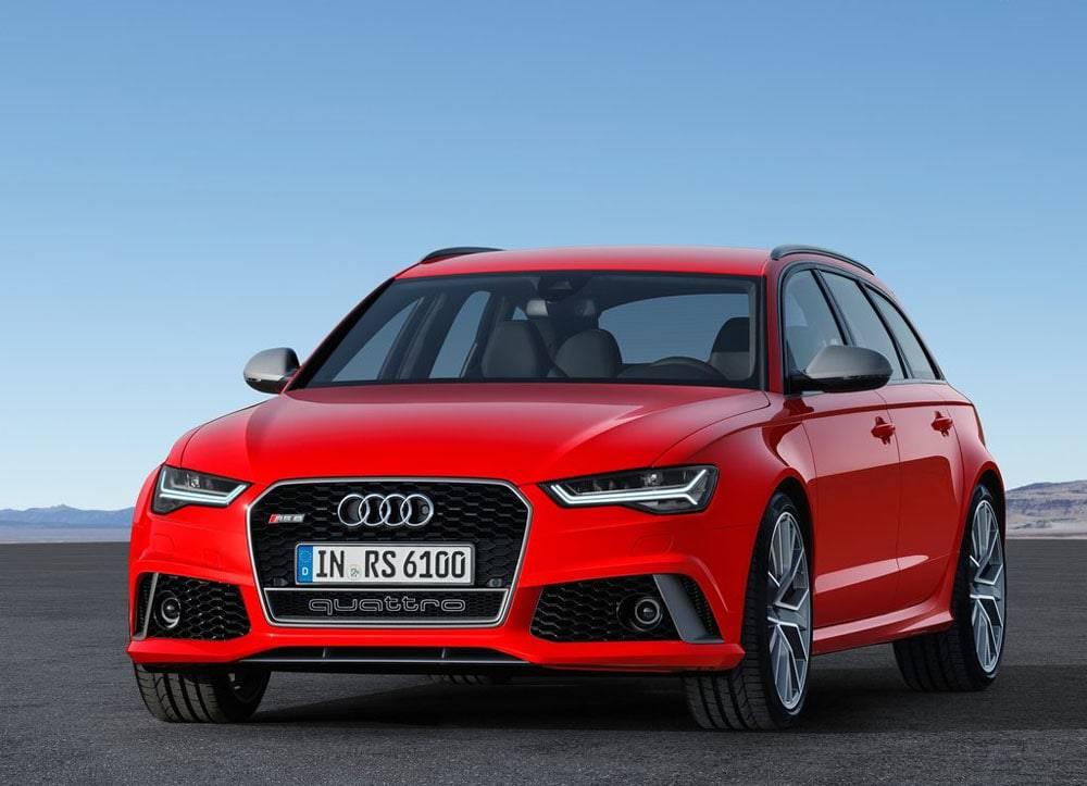 Audi RS6 Avant performance 2016-2017 модельного года - вид спереди
