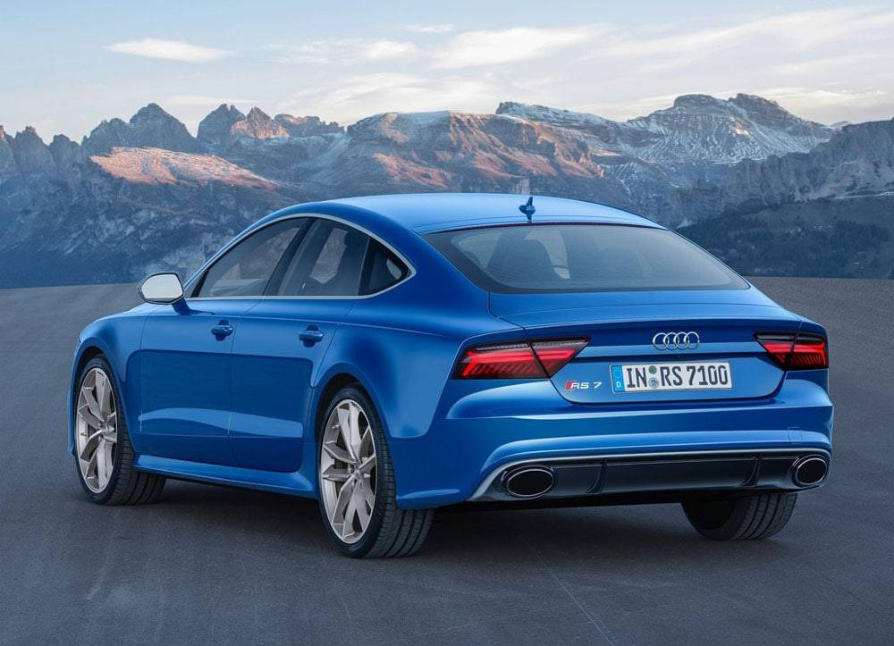 Audi RS7 Sportback performance - вид сзади