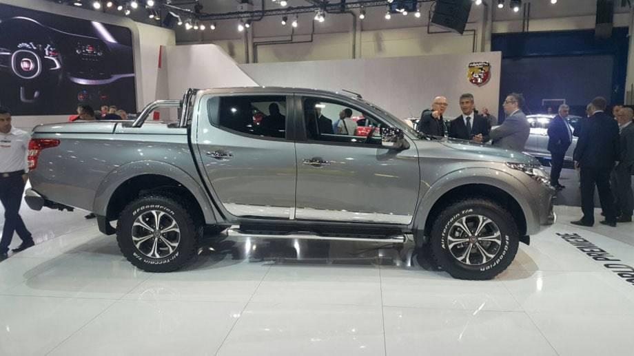 Фото Fiat Fullback 2012017 модельного года - вид сбоку