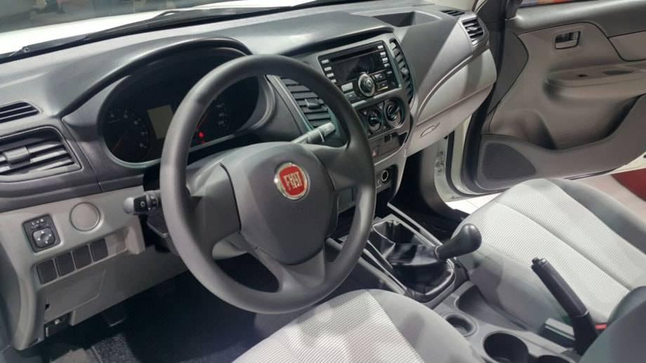 Интерьер Fiat Fullback 2012017 модельного года
