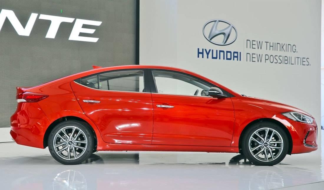 Фото Hyundai Elantra 2016-2017 модельного года