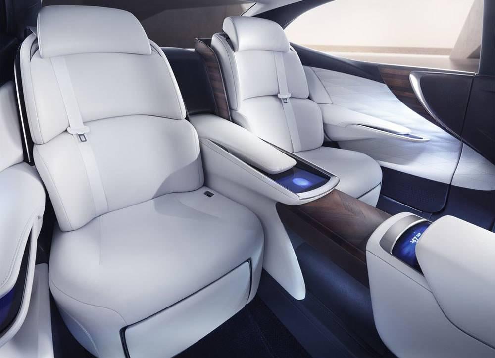 Фото Lexus LF-FC Concept - интерьер