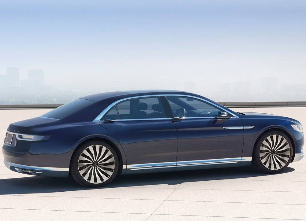 фото Lincoln Continental Concept 2015