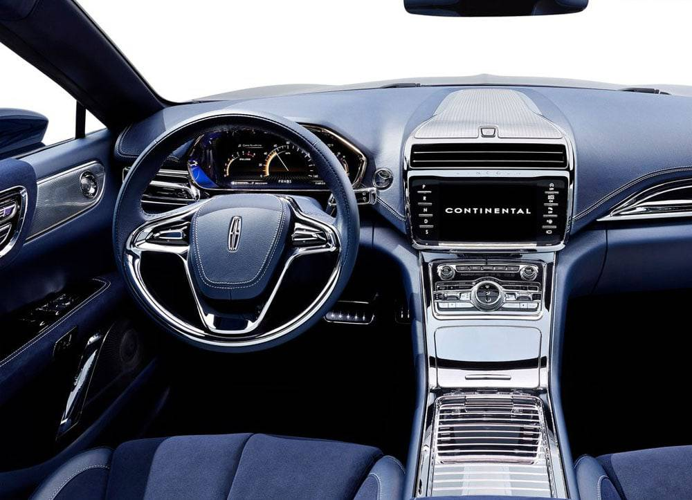 фото салона Lincoln Continental Concept 2015