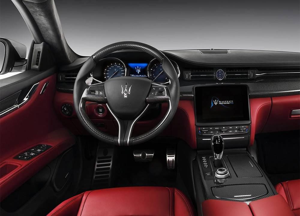 фото салон Maserati Quattroporte 2016-2017 года