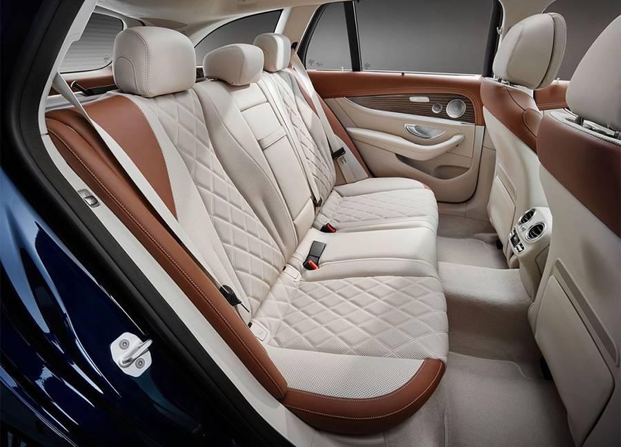 фото салона Mercedes-Benz E-Class Estate (S213) 2016-2017 второй ряд
