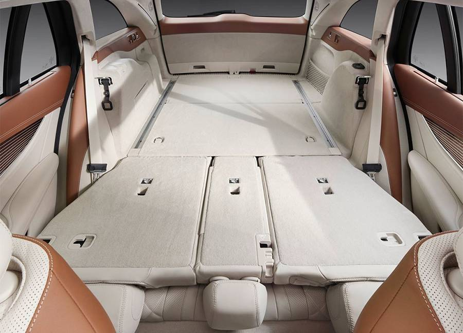 фото багажник Mercedes-Benz E-Class Estate (S213) 2016-2017