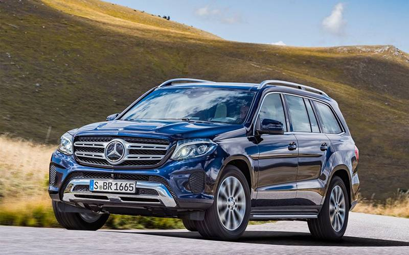 Фото Mercedes-Benz GLS - вид спереди