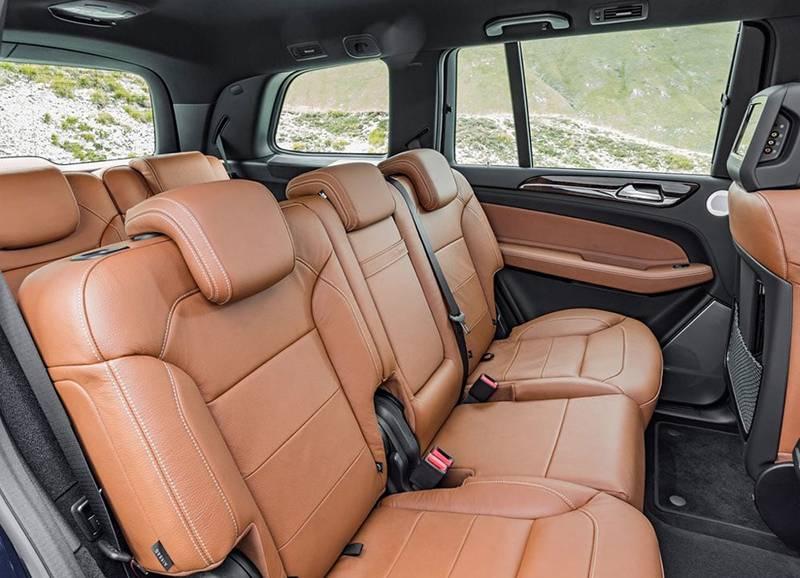 Фото интерьер Mercedes-Benz GLS 2016-2017 модельного года
