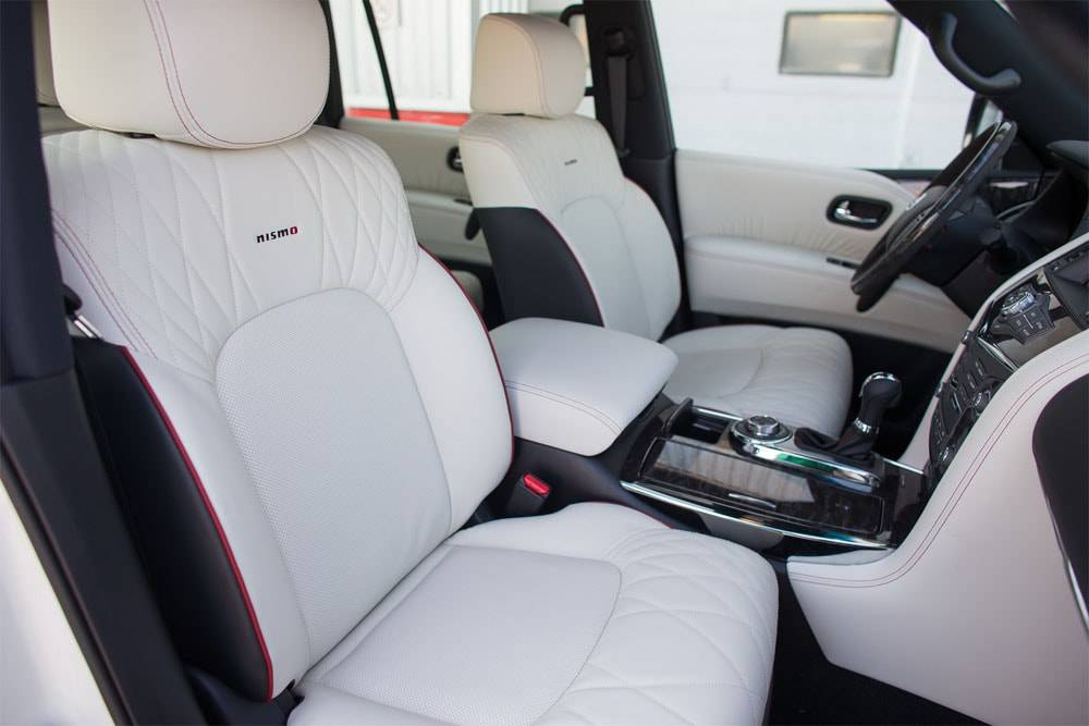 Nissan Patrol Nismo 2016-2017 - фото салона