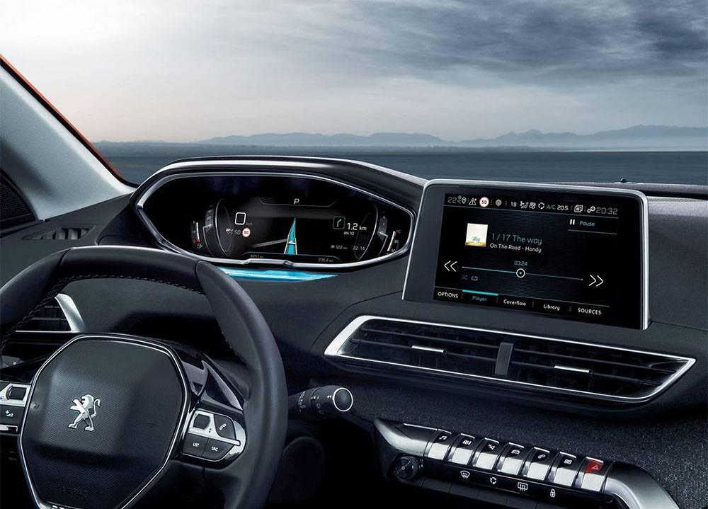 Peugeot 3008 2016-2017 года фото салона