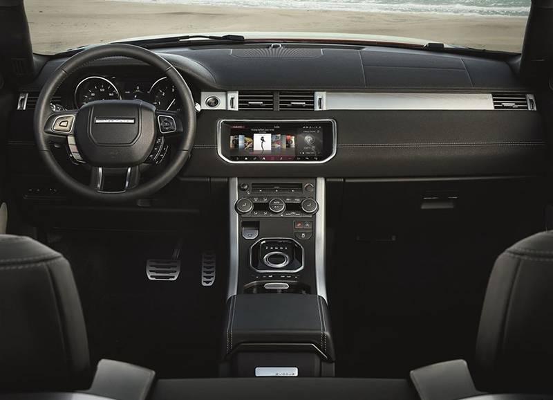 Салон Range Rover Evoque Convertible 2016-2017 модельного года