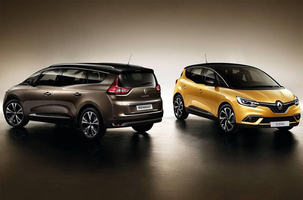 фото Renault Grand Scenic и Renault Scenic