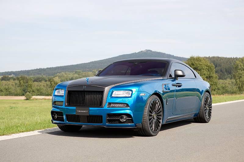 Rolls-Royce Wraith от тюнингового ателье Mansory