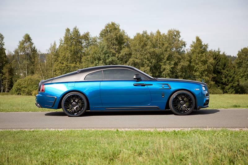 Фото Rolls-Royce Wraith от тюнингового ателье Mansory