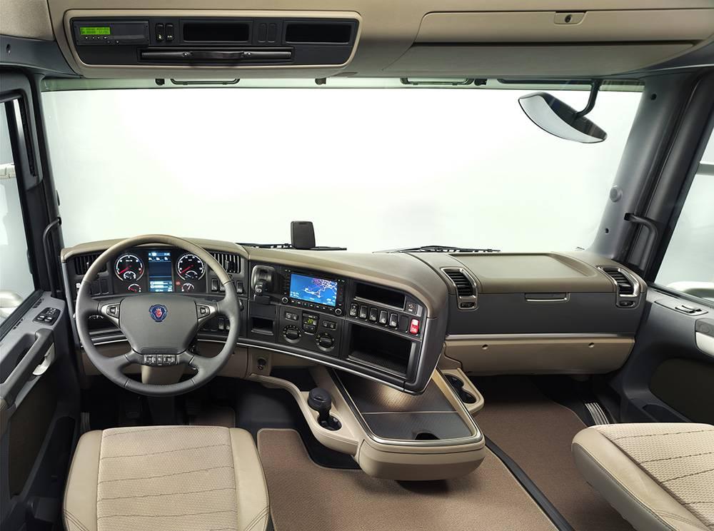 Фото салона Scania (Скания) R-series