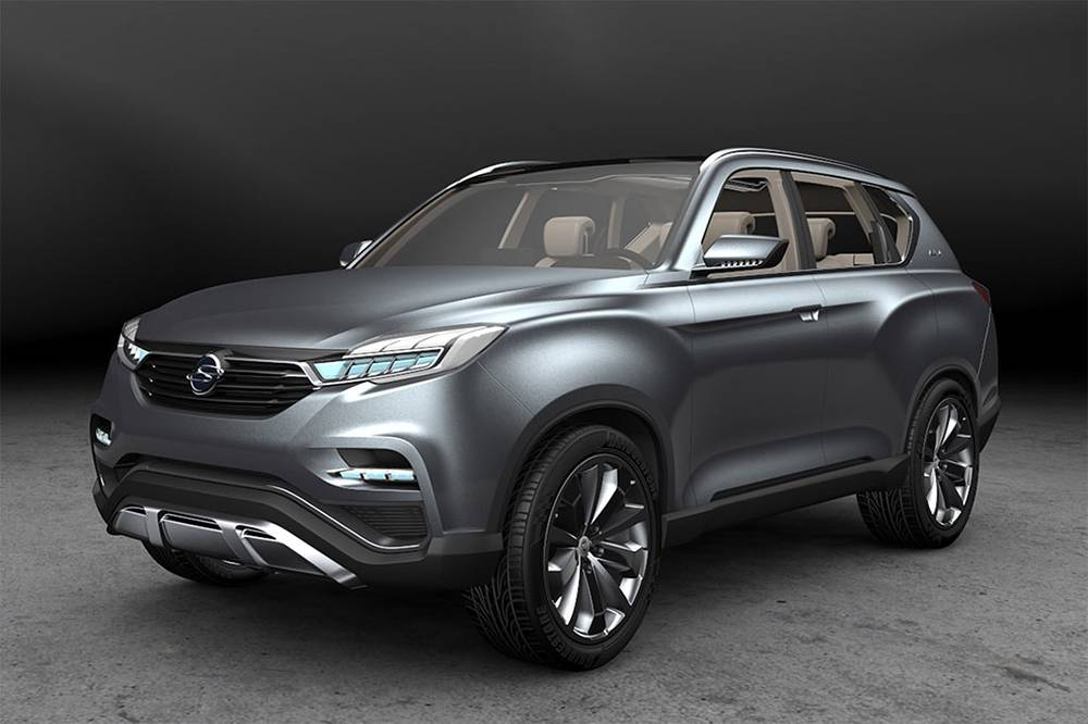 Ssangyong Rexton (y400) 2018 фото