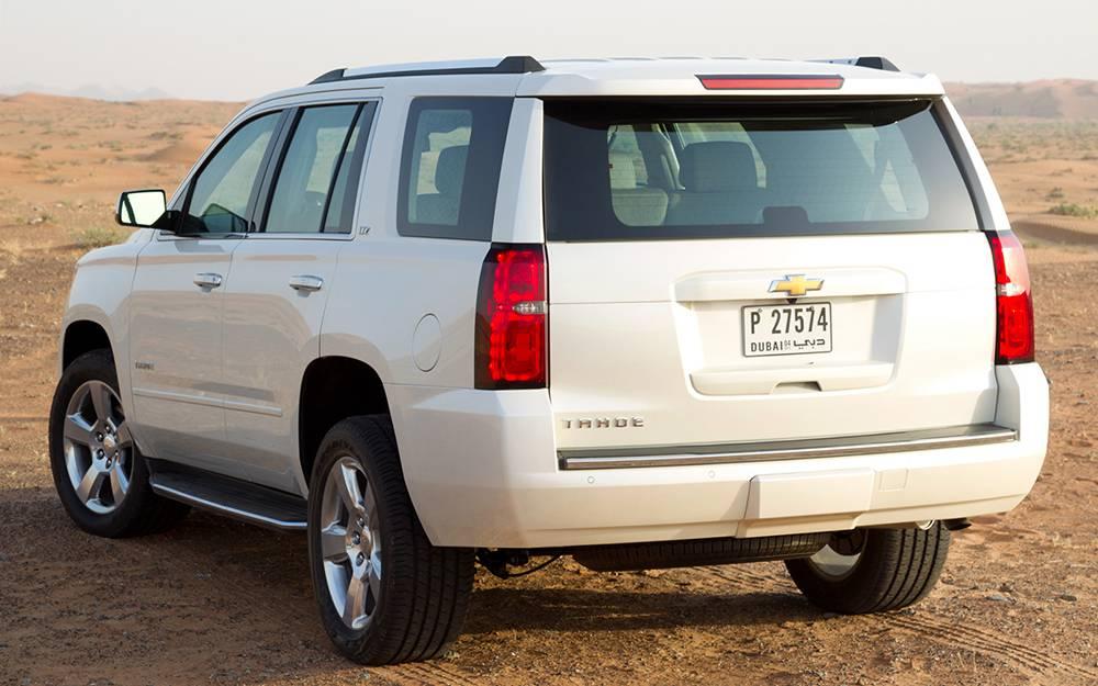 фото обновленного Chevrolet Tahoe 4-го поколения