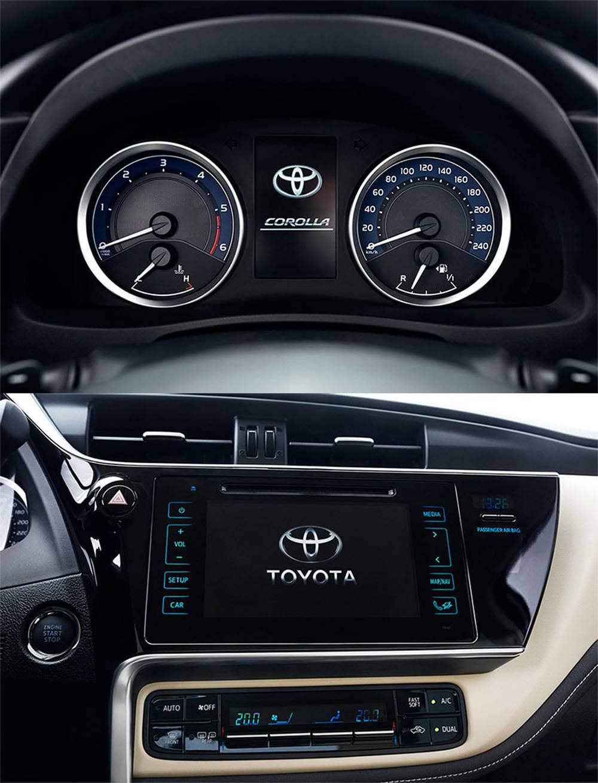 фото интерьера Toyota Corolla 2016-2017 года