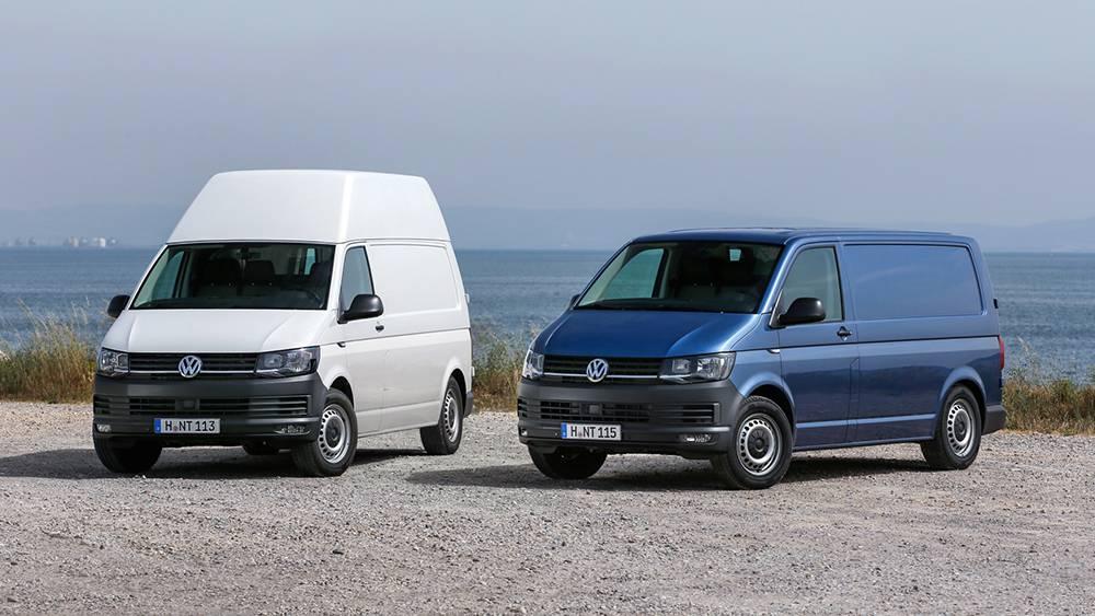 Фото Volkswagen Transporter T6 Kasten