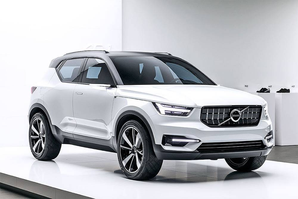 фото Volvo 40.1 Concept 2016 вид спереди