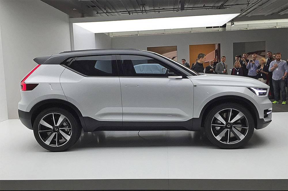 фото концепт Volvo 40.1 2016 года вид сбоку