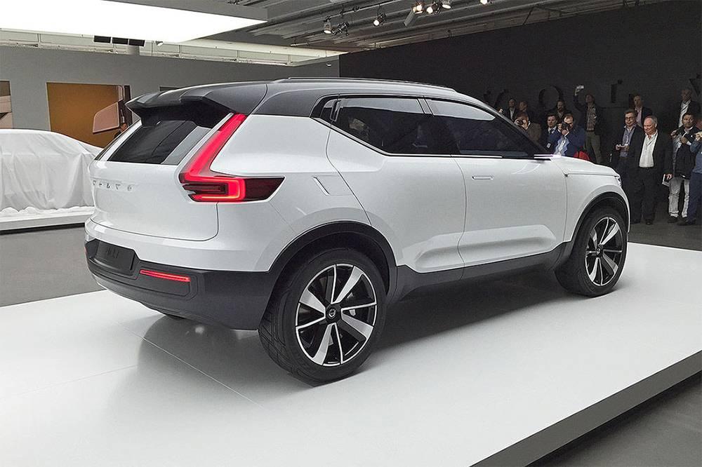 фото Volvo 40.1 Concept 2016 вид сзади