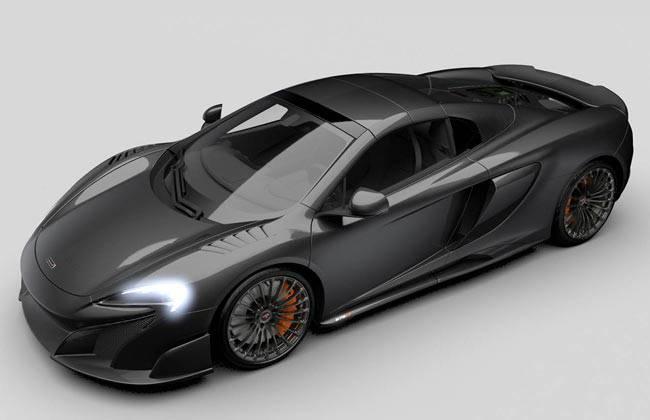 McLaren 675LT Spider MSO Carbon Series LT фото