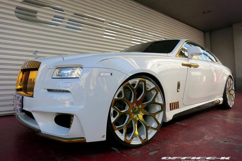 Фото Тюнинговый Rolls-Royce Wraith от ателье Office-K