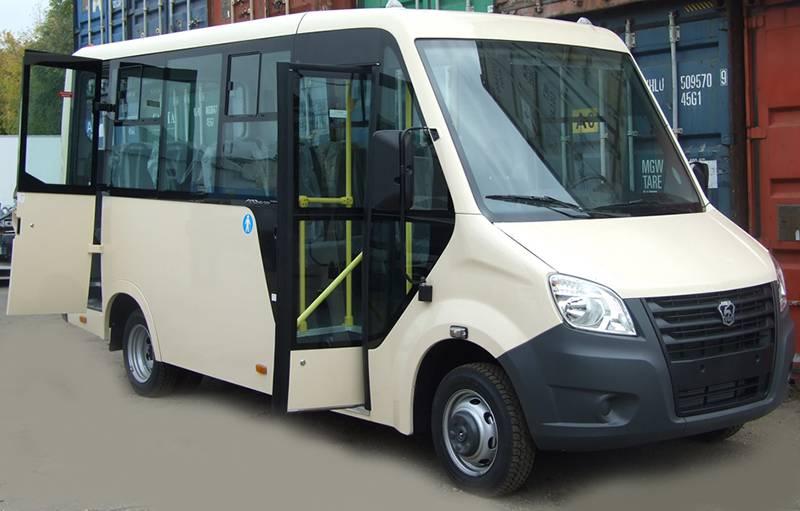 Фото Городской автобус Газель-Next - вид спереди
