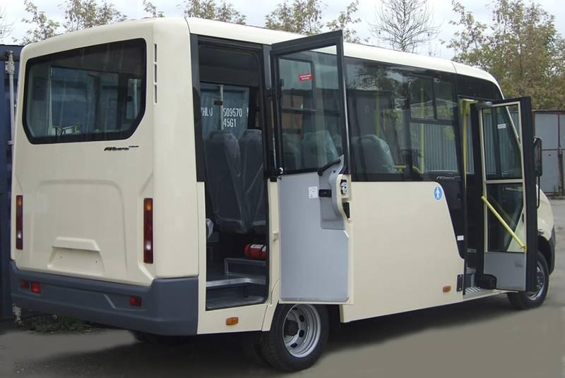 Фото Городской автобус Газель-Next - вид сзади