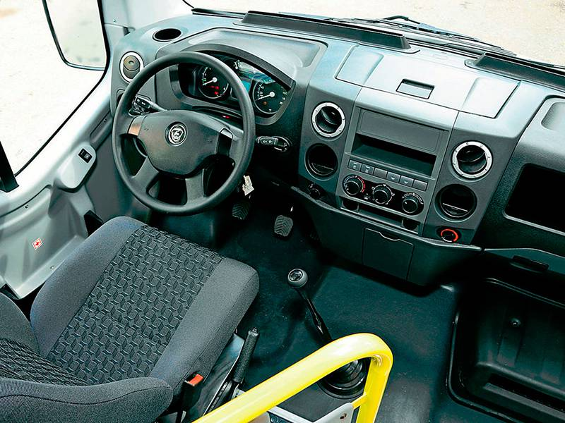 Фото Городской автобус Газель-Next - место водителя