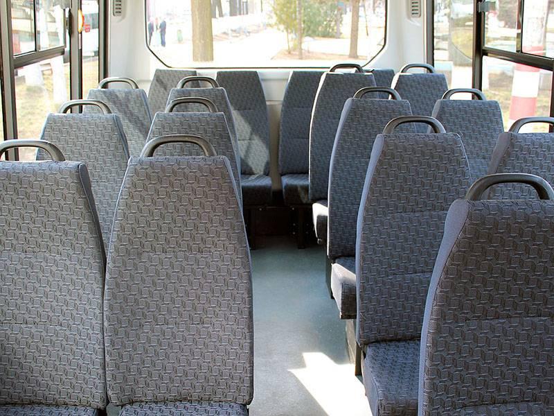 Фото Городской автобус Газель-Next - салон
