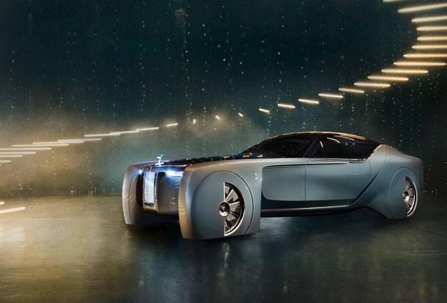 Фото Rolls-Royce Vision Next 100