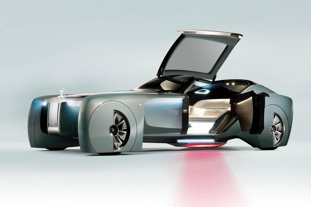 фото Rolls-Royce Vision Next 100 - вид спереди