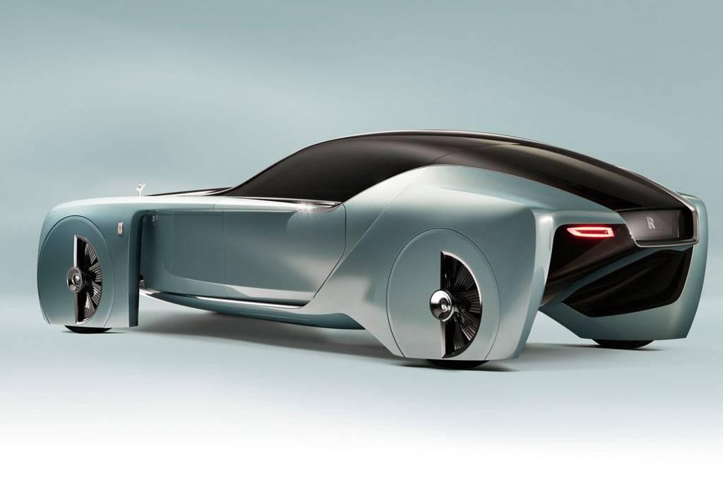 фото Rolls-Royce Vision Next 100 - вид сзади