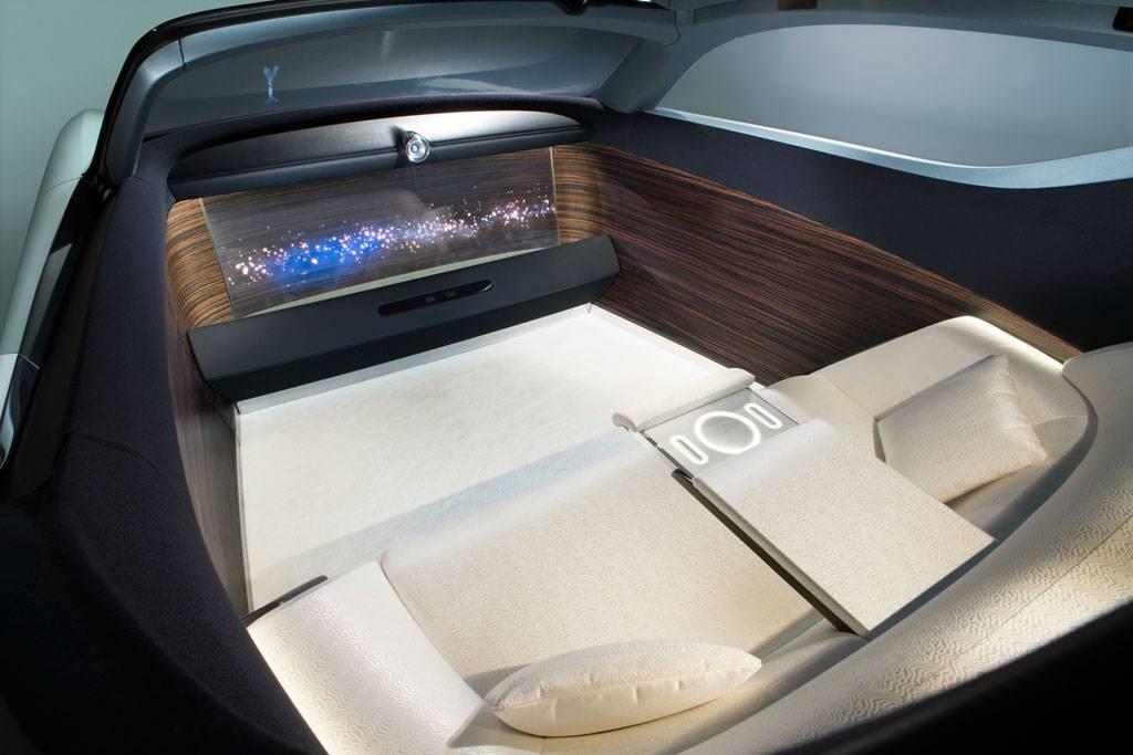 фото салона Rolls-Royce Vision Next 100