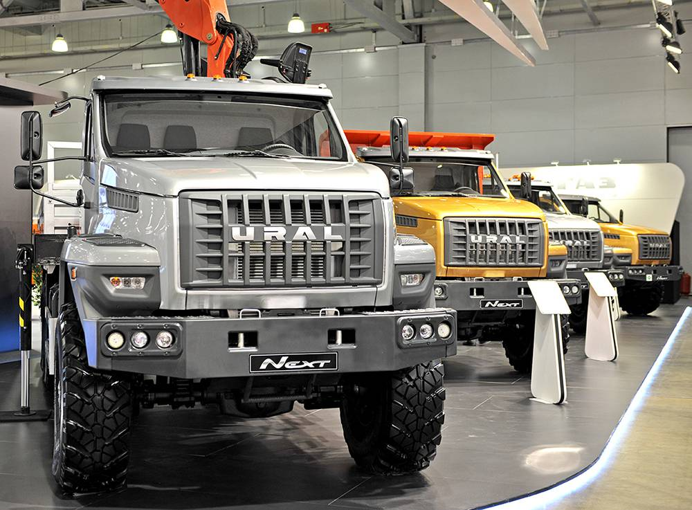 Фото грузовиков Урал-Next