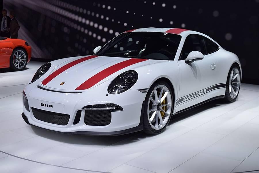 фото Porsche 911 R 2016-2017 года