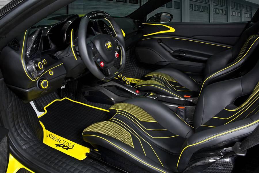 Салон Ferrari 488 4XX Siracusa