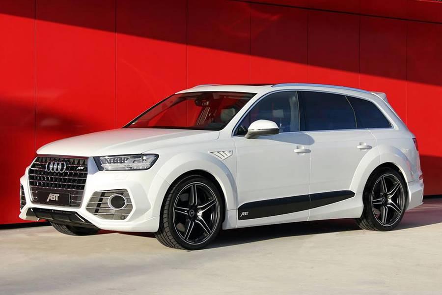 Фото Audi Q7 2-го поколения от ателье ABT Sportsline