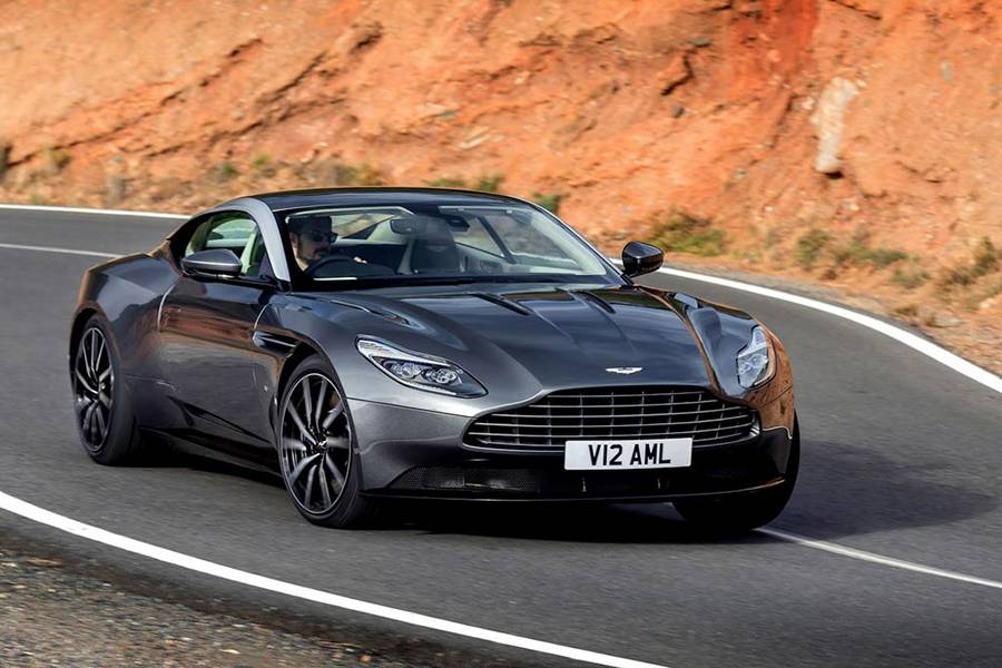 Купе Aston Martin DB11 2016-2017 - фото
