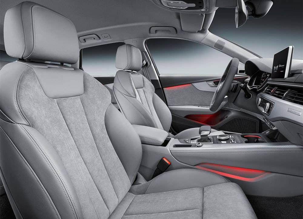 Фото интерьер Audi Q2 2016-2017 года