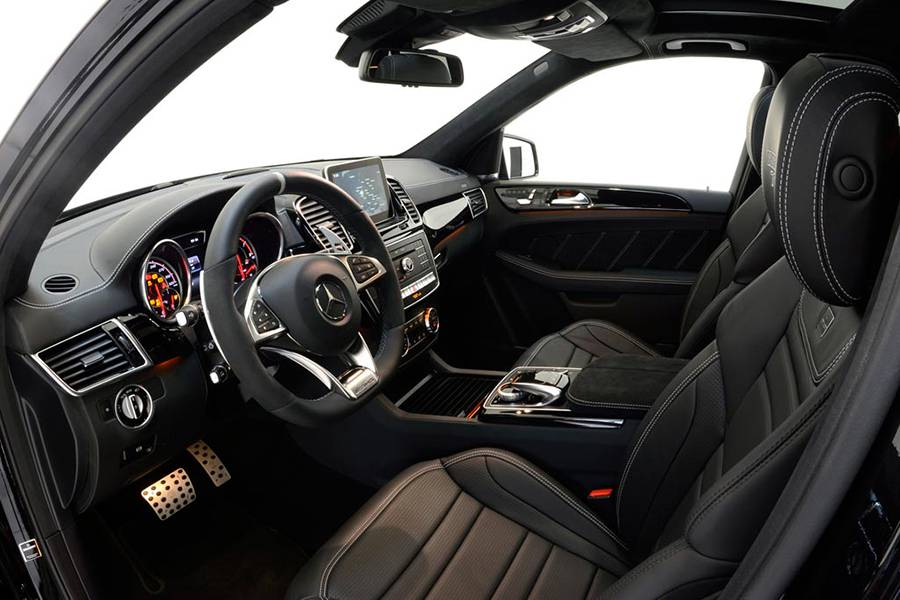 Фото Mercedes-AMG GLE 63 от тюнинг ателье Brabus