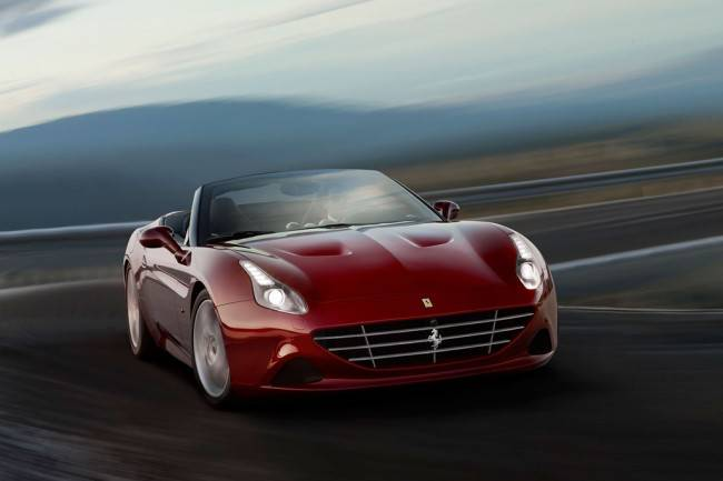 Фото суперкара Ferrari California T со спорт-пакетом Handling Speciale