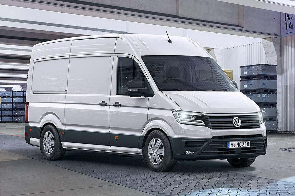 картинки Volkswagen Crafter 2016-2017 года