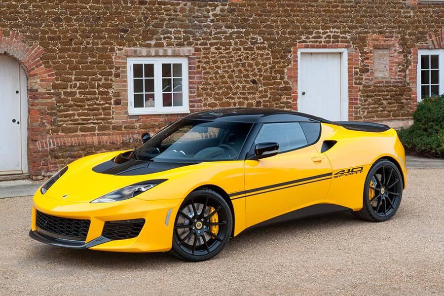 Спорткар Lotus Evora Sport 410 - фото
